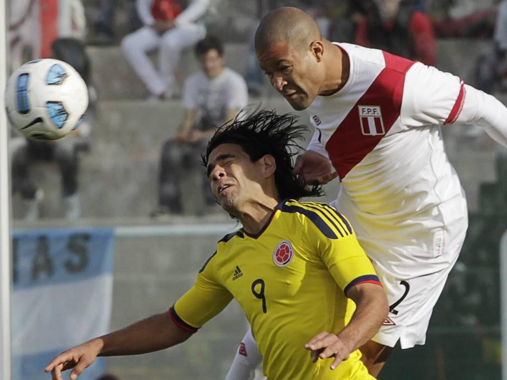 Colombia-Peru, Falcao salta com Rodriguez