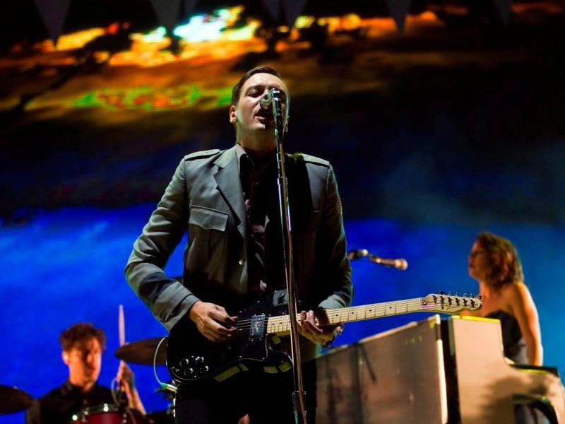 Arcade Fire no SBSR 2011 (José SEna Goulão/Lusa)