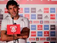 Capdevila apresentado no Benfica (EPA/Thiago Petinga)