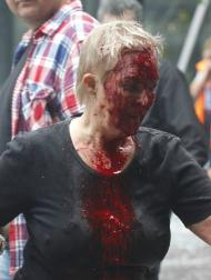 Ataque terrorista na Noruega - EPA/STF 3TP NOROUT