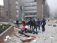 Ataque terrorista na Noruega - EPA/Holm Morten
