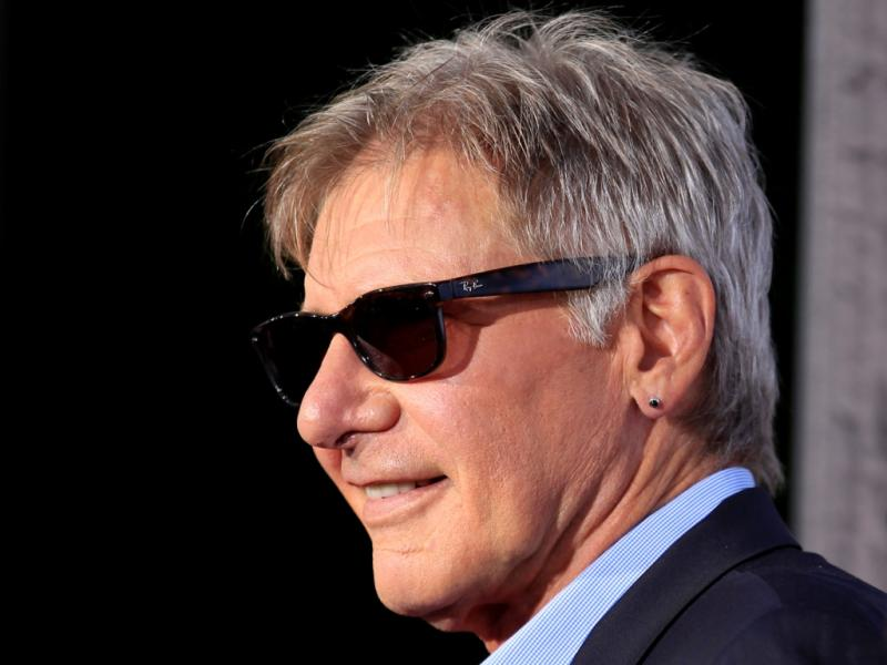 Harrison Ford na première de «Cowboys and Aliens» na Comic-con (foto Reuters)