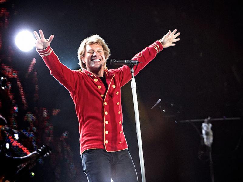 Bon Jovi ao vivo no Parque da Belavista (foto: Manuel Lino)