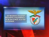 Roberto: explicações do Benfica