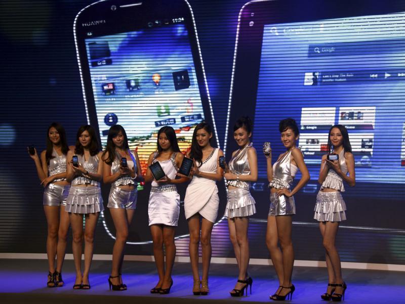 O smartphone «Vision» da Huawei - Reuters\David Gray
