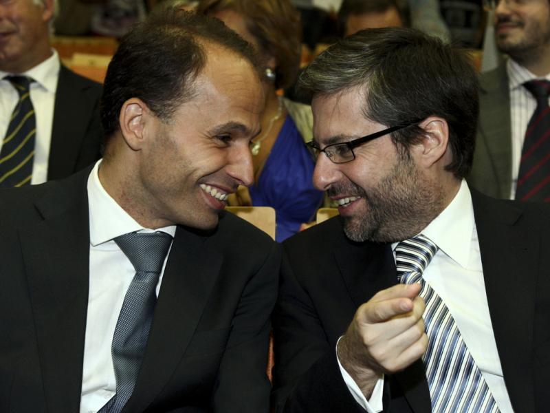 Pedro Mota Soares e Mário António Costa