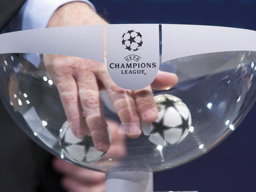 Sorteio Champions (EPA/Salvatore di Nolfi)