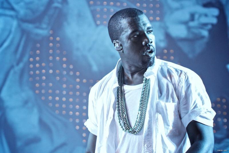 Kanye West no Sudoeste TMN 2011 (foto: Manel Lino)