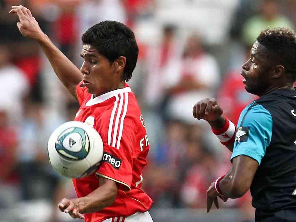 Benfica-Arsenal (LUSA/Mário Cruz)
