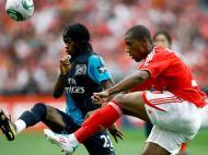 Benfica-Arsenal (LUSA/Paulo Cordeiro)