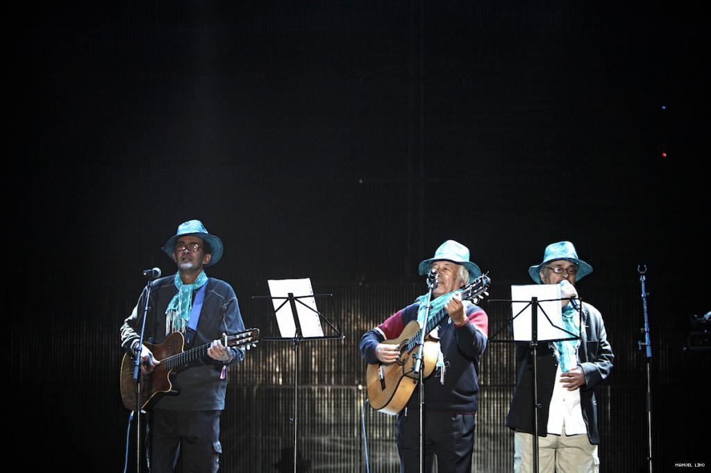 Trio Odemira no Sudoeste TMN 2011 (foto: Manuel Lino)
