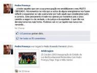 Mensagem de Pedro Proença