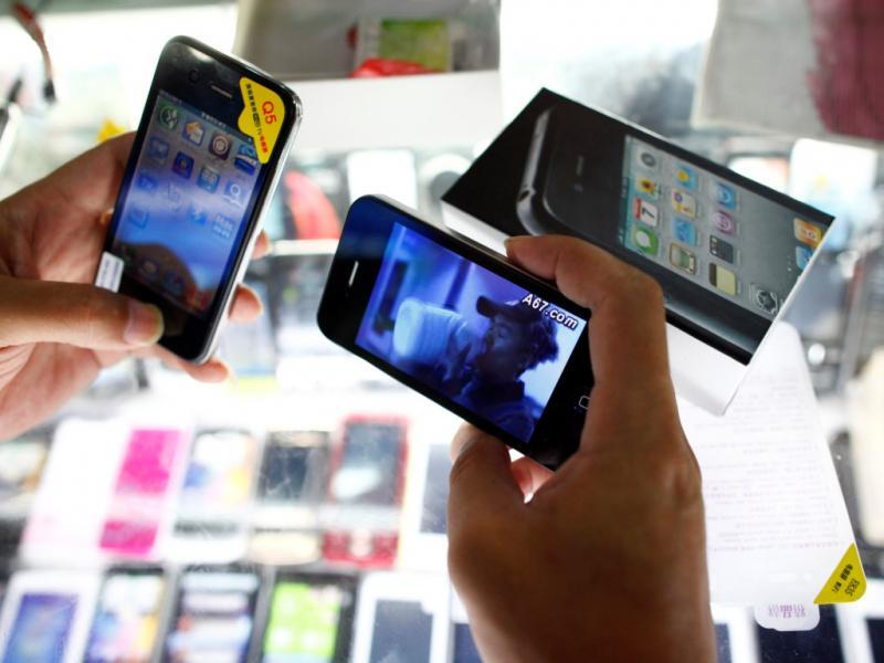iPhone 5 clonado antes do lançamento oficial