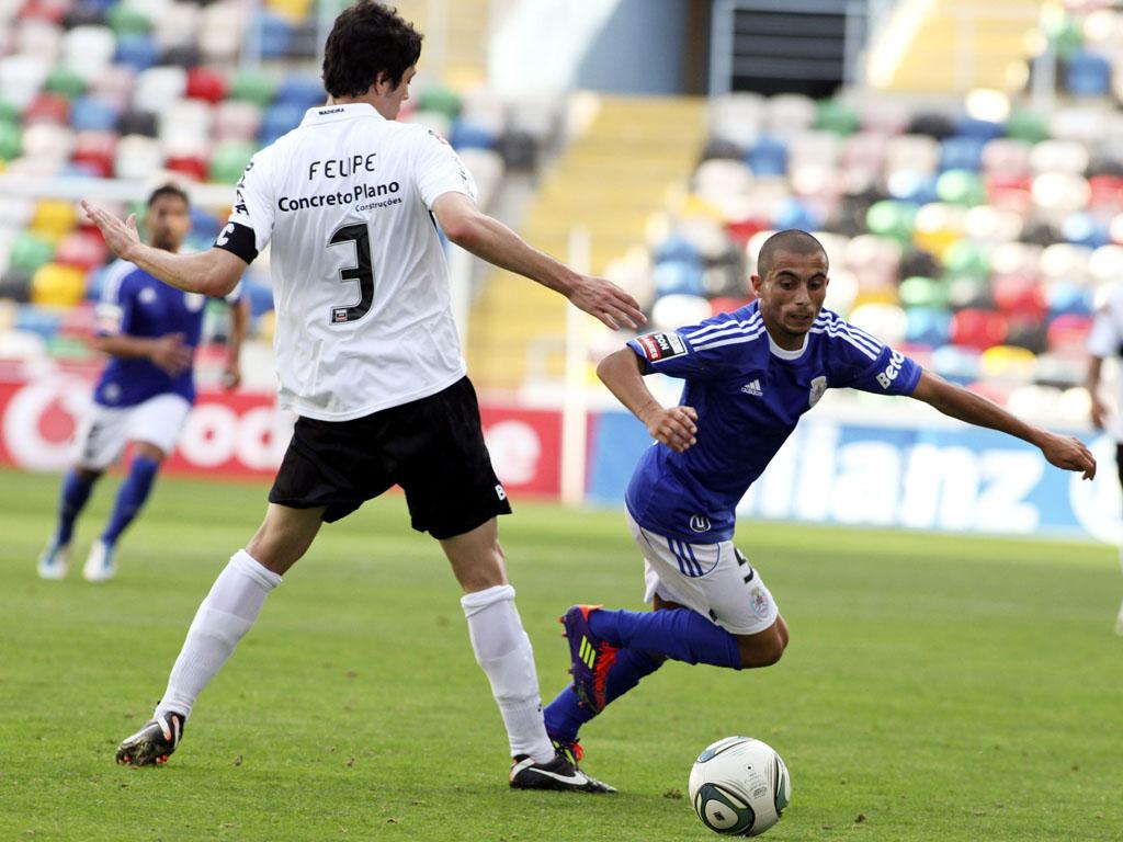 Feirense vs Nacional (foto: Lusa)