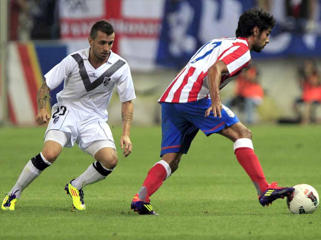 At. Madrid vs V. Guimarães (EPA/Gustavo Cuevas)