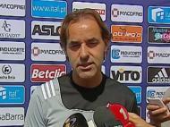 Quim Machado faz antevisão do Benfica-Feirense