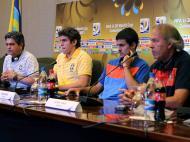 Ney Franco, Bruno Uvini, Nuno Reis e Ilídio Vale