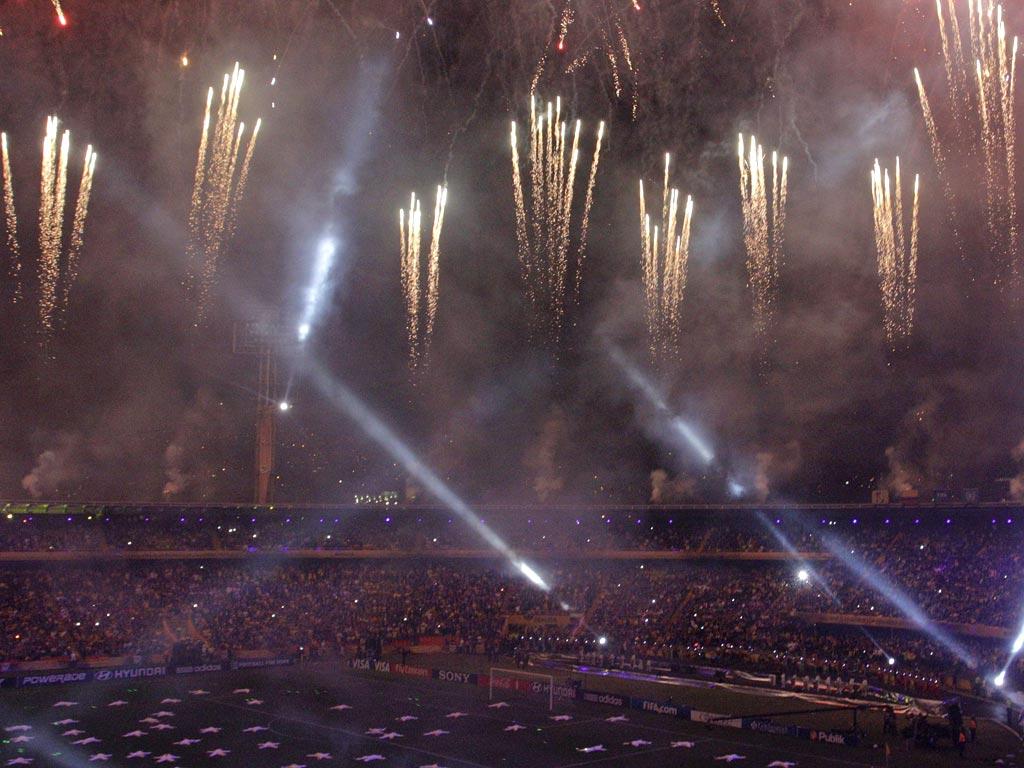 Cerimónia de encerramento do Mundial sub-20 na Colômbia