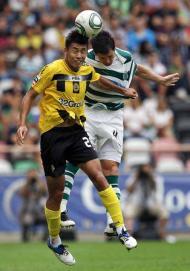 Beira Mar vs Sporting (José Coelho/LUSA)