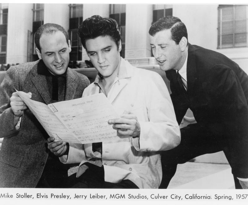 Resultado de imagem para elvis and jery liber 1957