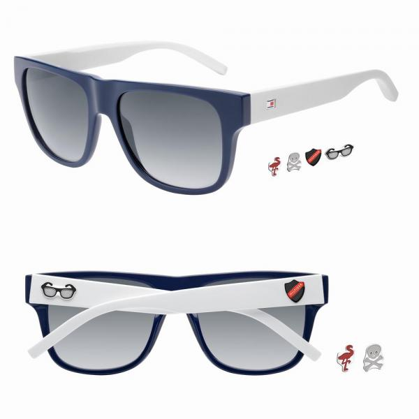 Tommy Hilfiger apresenta óculos de sol com ímanes icónicos amovíveis 245a10f3ed