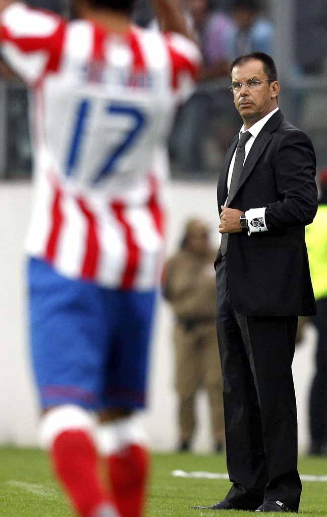 V. Guimarães vs Atlético Madrid (José Coelho/LUSA)