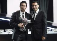 Messi eleito melhor jogador da Europa pela Uefa - cerimónia Forúm Grimaldi Fotos: Lusa