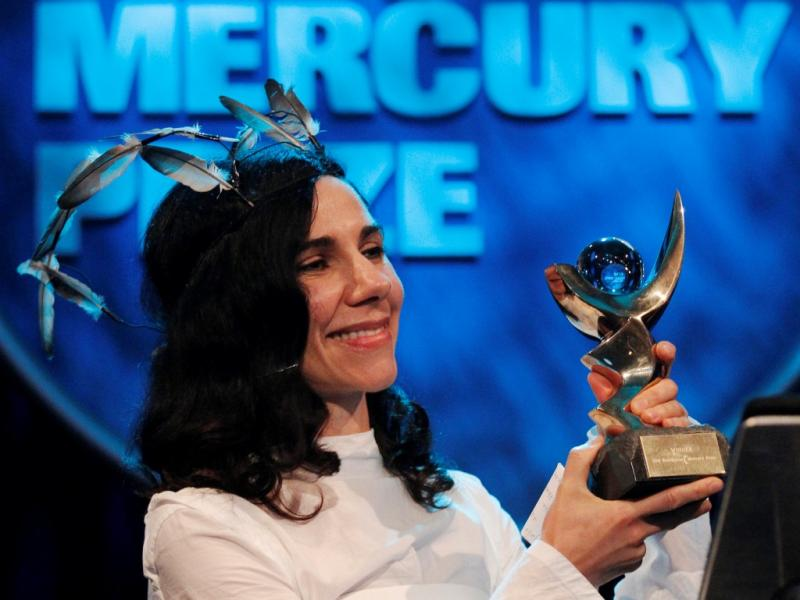 PJ Harvey vence o Mercury Prize 2011 (foto Reuters)