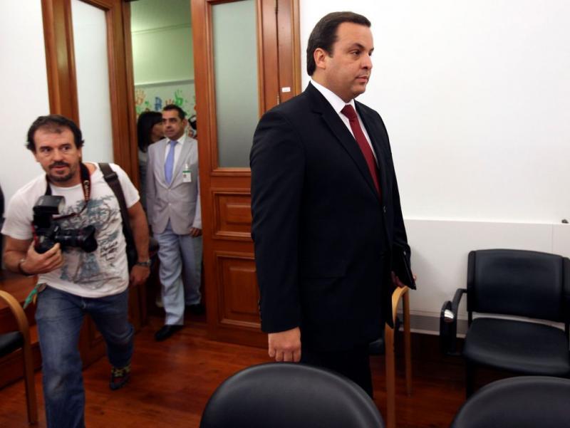 Jorge Silva Carvalho no Parlamento (TIAGO PETINGA/LUSA)