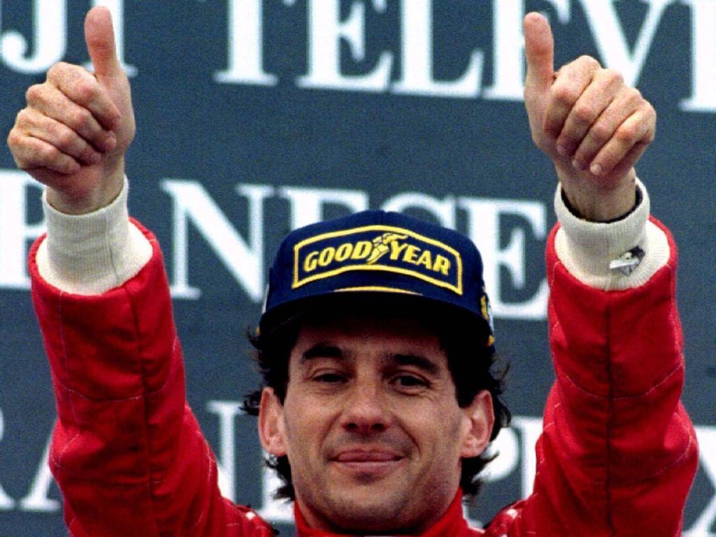 Ayrton Senna (foto Reuters)
