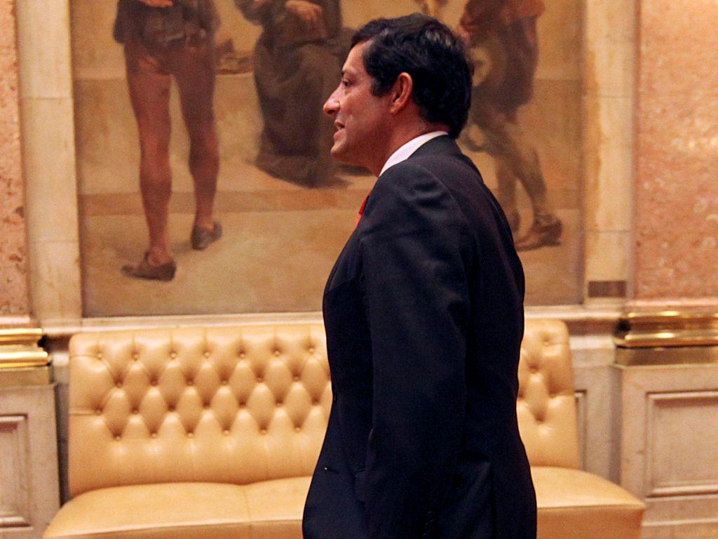 Zorrinho no debate quinzenal [TIAGO PETINGA / LUSA]