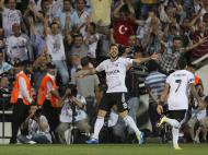 Besiktas Istanbul vs Maccabi Tel Aviv  (EPA)