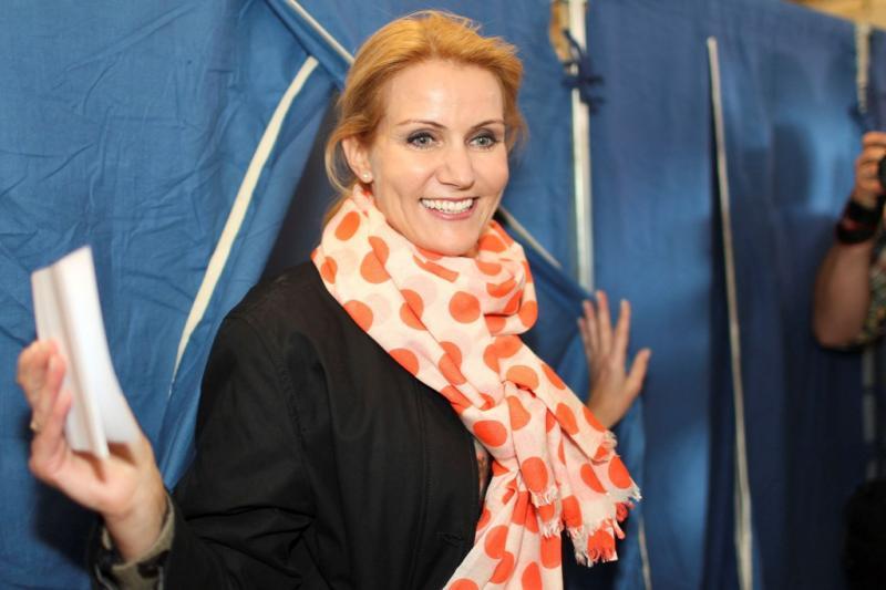 Helle Thorning-Schmidt, primeiro-ministro da Dinamarca