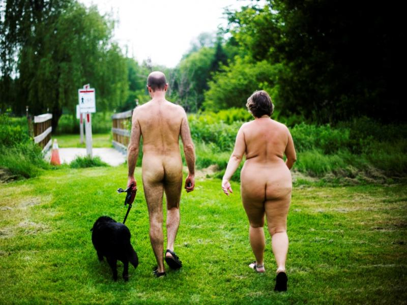 Parque de naturismo no Canadá [REUTERS/Mark Blinch]
