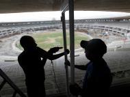 Obras no estádio Maracanã, no Rio de Janeiro [Reuters]