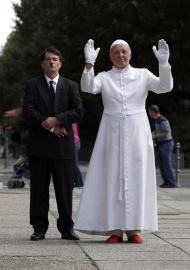 Protestos contra visita do Papa à Alemanha - Reuters\Thomas Peter