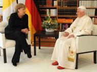 Protestos durante visita do Papa à Alemanha (REUTERS)