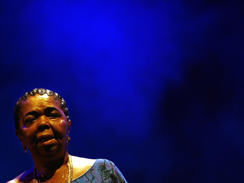Cesária Évora  (REUTERS)