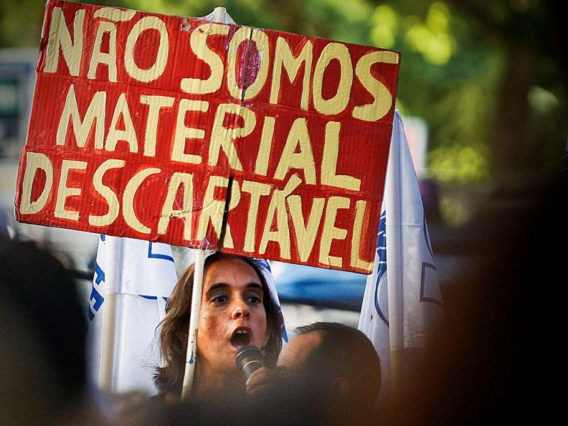 Manifestação de professores [MARIO CRUZ/LUSA]