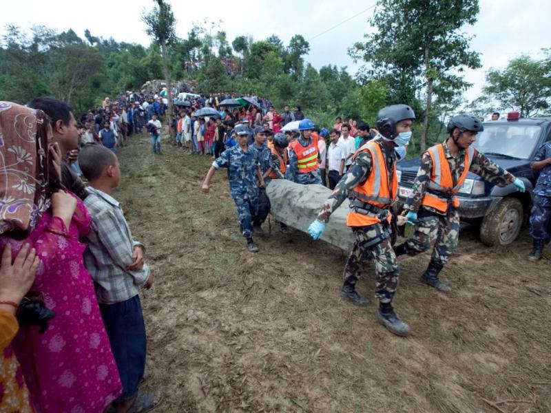 Nepal: 18 mortos em acidente de avião [EPA/NARENDRA SHRESTHA]