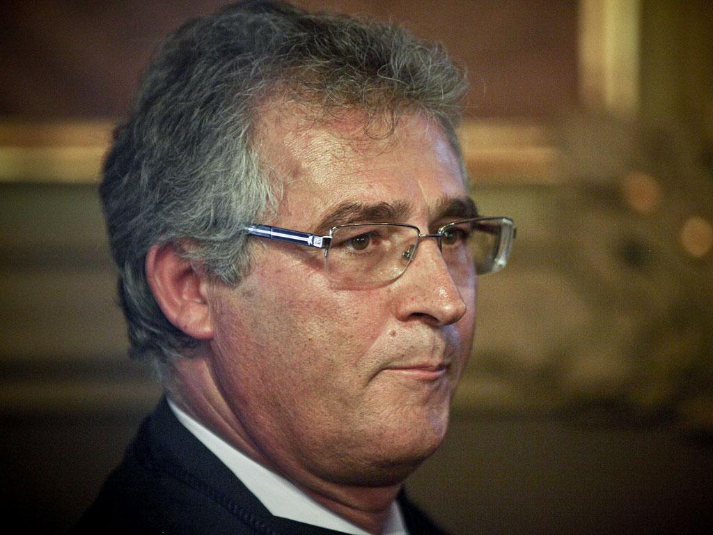 Luís Vaz das Neves, Tribunal de Relação de Lisboa - MARIO CRUZ/LUSA
