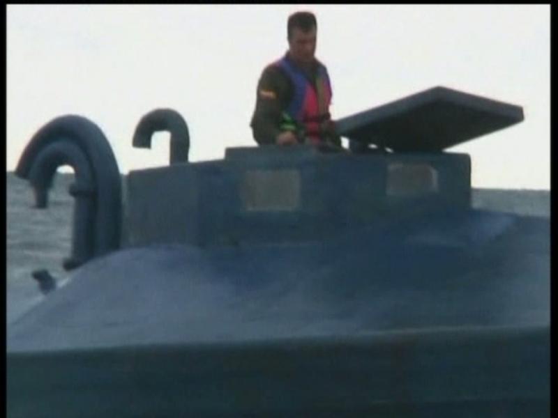 Colômbia: Submarino das FARC apreendido