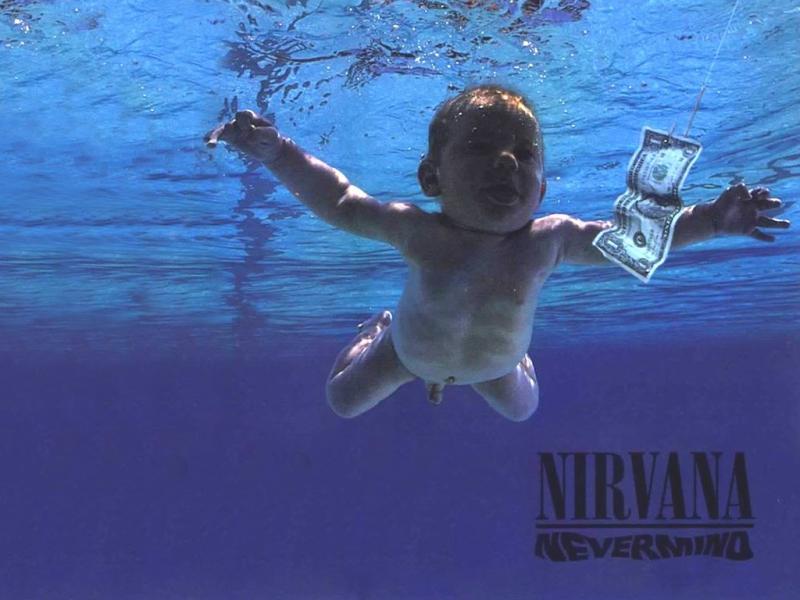 A capa de «Nevermind», dos Nirvana