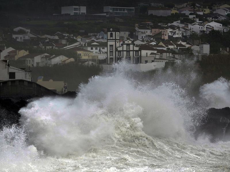 Mau tempo nos Açores (Lusa)