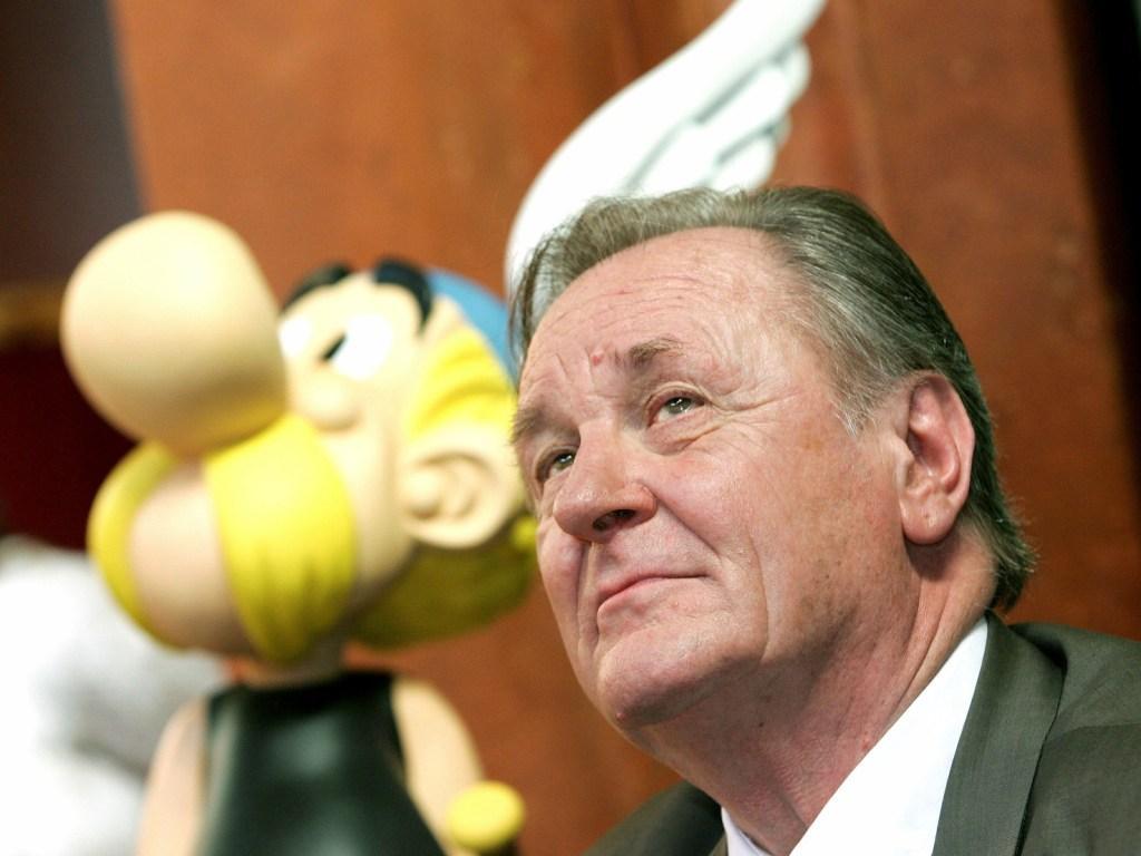 Criador de Asterix retira-se (REUTERS)