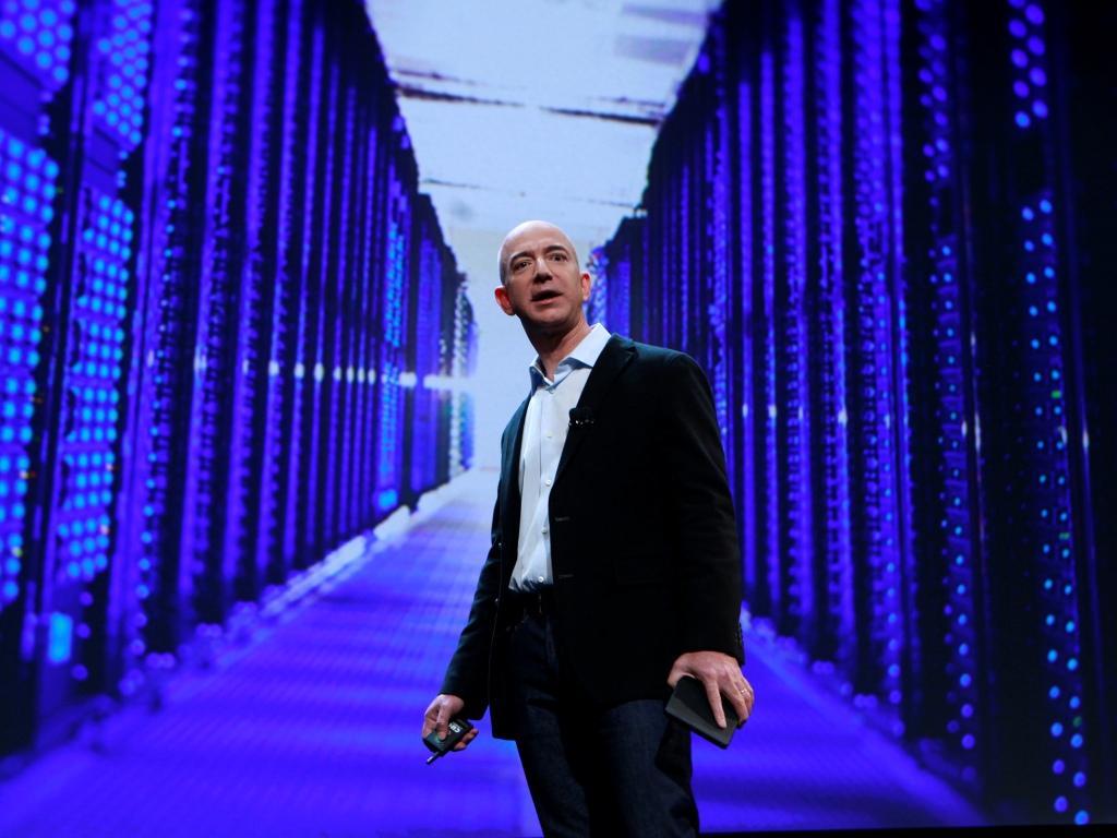 Jeff Bezos apresenta Kindle Fire