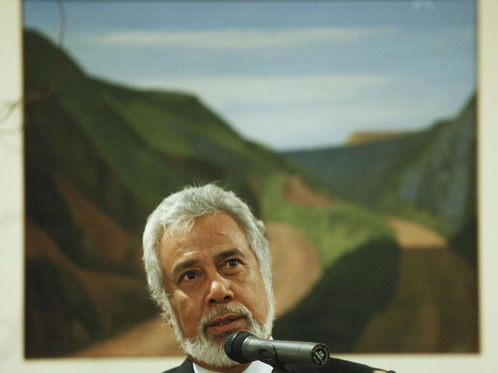 Xanana Gusmão - ANDRE KOSTERS/LUSA