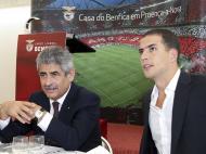 Luís Filipe Vieira e Ricardo Araújo Pereira, (António José/Lusa)