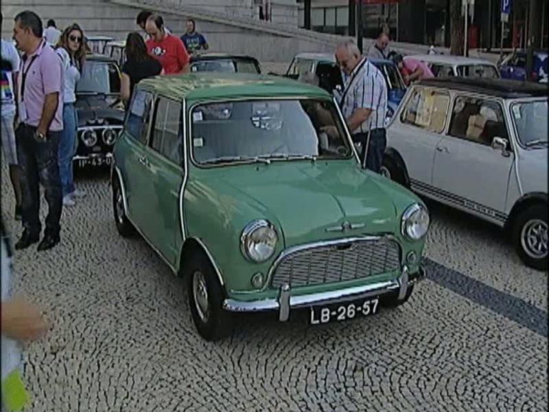 Concentração de minis no Porto