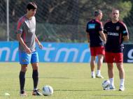 Sereno e Paulo Bento (EPA/Luís Forra)